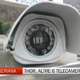 Sistema Thor in Valle Seriana, in arrivo altre sei telecamere