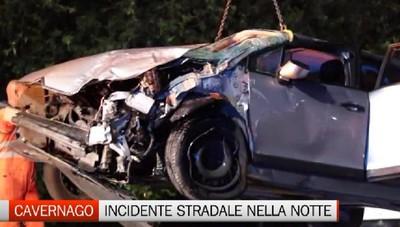 Cavernago: incidente stradale senza feriti gravi