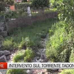 Trescore Balneario, intervento sul torrente Tadone
