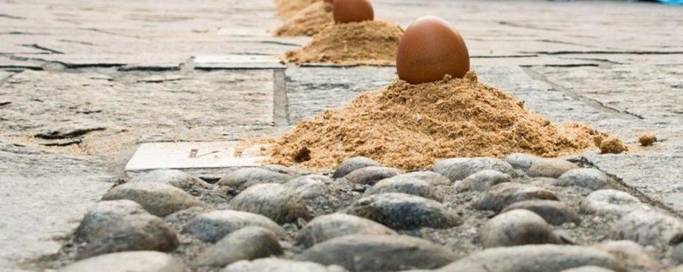 Al via la corsa delle uova   Venerdì Gandino si accende