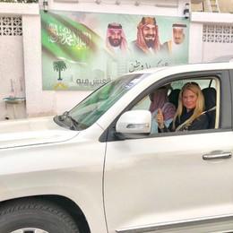 Tatyana Lorenzini, è bergamasca la prima donna al volante in Arabia Saudita