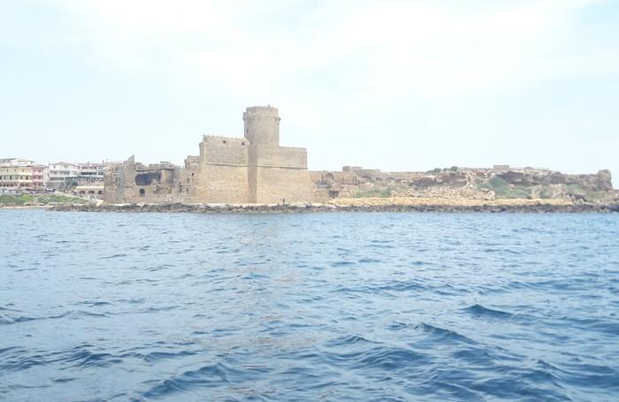 La costa crotonese e la sua provincia vista dal mare