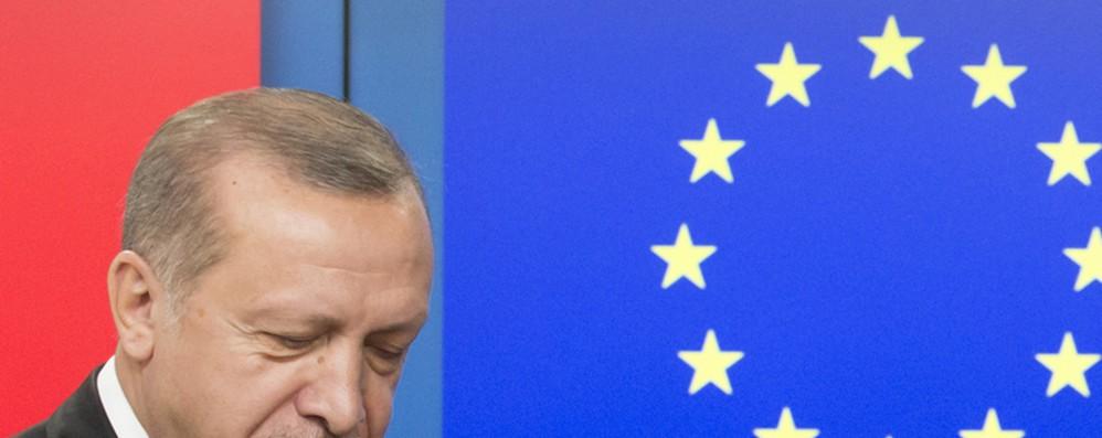 Ue, Erdogan rimanga impegnato sui temi comuni
