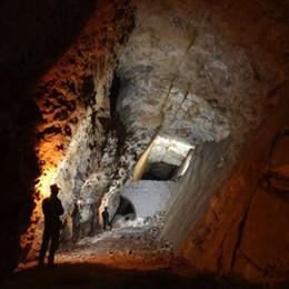 Le  insospettabili cavità sotto Astino «Meneghina», l'unica miniera in città