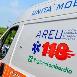 Gazzaniga, incidente sulla provinciale Lunghe code in Val Seriana