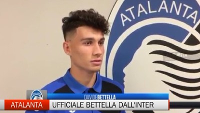 Atalanta, ufficiale il giovane Bettella dall'Inter