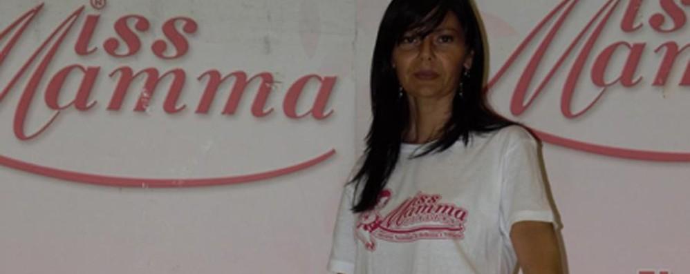Cinzia, 42 anni di Tavernola Miss Mamma, in finale una bergamasca