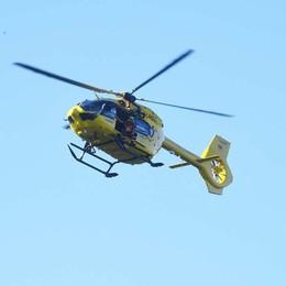 Scomparso un 80enne a Corna Imagna Scattano le ricerche con l'elicottero