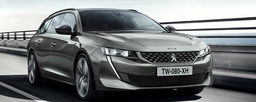 Peugeot 508: in arrivo anche la Station Wagon