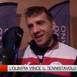 Csi - L'Olimpia vince il tennistavolo