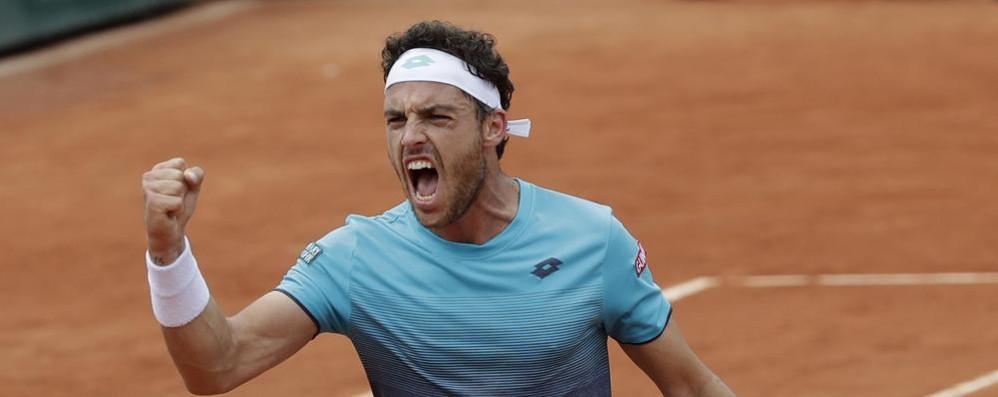 La favola di Cecchinato al Roland Garros Cresciuto passando anche per Bergamo
