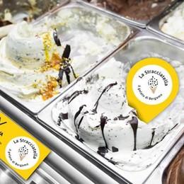 La stracciatella, regina del gelato orobico In Piazza Vecchia trecento chili  di gusto