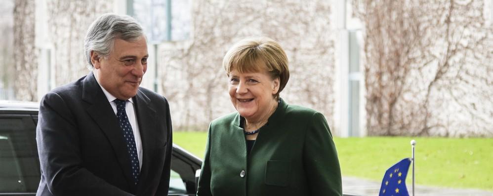 Migranti: Tajani, accordo con Merkel su priorità riforma asilo