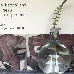 Mazzoleni presenta «Foresta Nera» Opere in mostra allo spazio Cento4