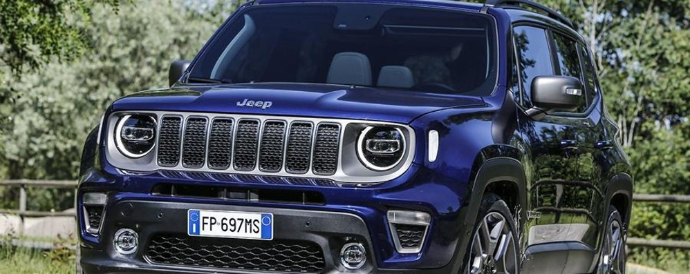 Anteprima europea per Jeep Renegade MY19