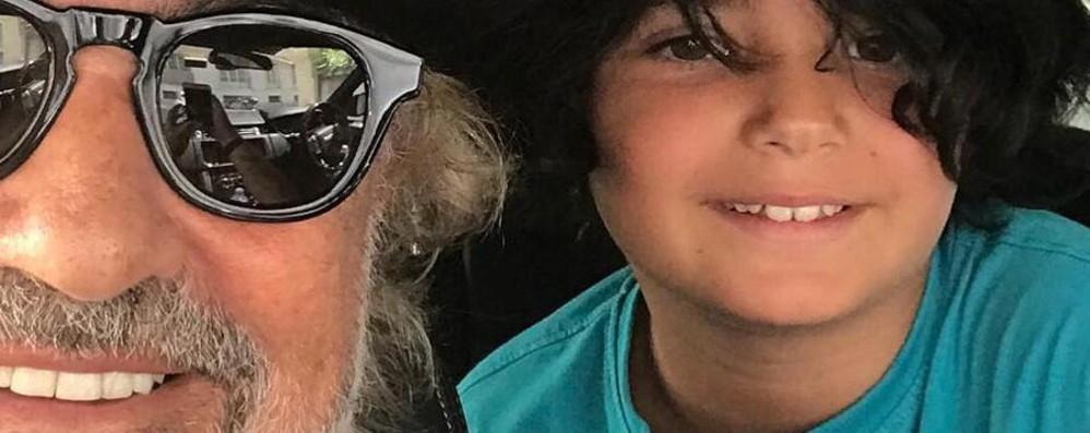Nathan Falco e papà Flavio a Bergamo Da lunedì al Football Camp dell'Atalanta