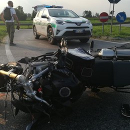 Mozzanica, moto contro trattore Muore motociclista di 36 anni