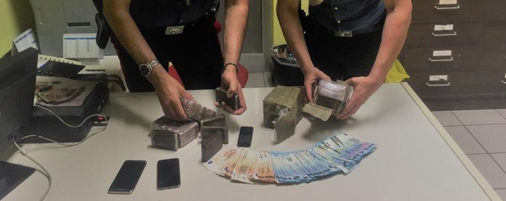 Osio Sotto, fermati due spacciatori Carabinieri, nella Bassa già 200 arresti