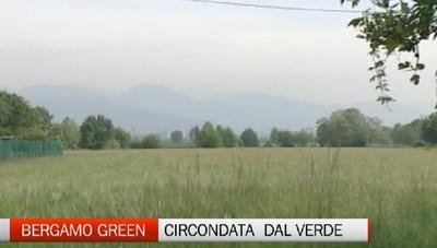 Bergamo sarà circondata da un abbraccio green