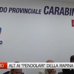 Bergamo - Stop ai pendolari della rapina