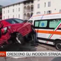 Prefettura di Bergamo - In aumento gli incidenti stradali
