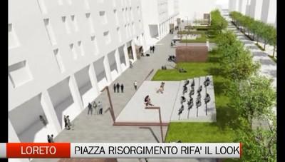 Loreto: Piazza Risorgimento rifà il look