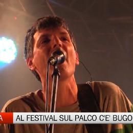 Bugo sul palco dell'Ambria Music Festival «Non sono controcorrente, sono Bugo»
