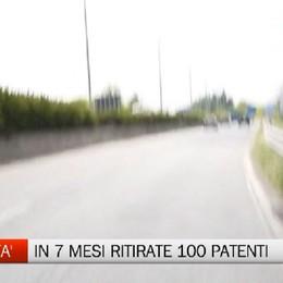 Eccesso di velocità - Già 100 patenti ritirate da inizio anno