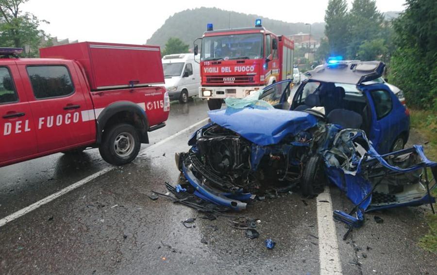 Pioggia, code e incidente a Entratico Traffico bloccato su molte strade