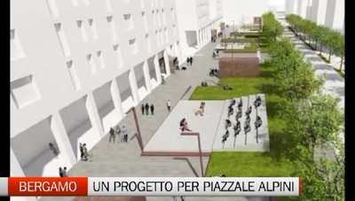 Bergamo - In arrivo il progetto per piazzale degli Alpini