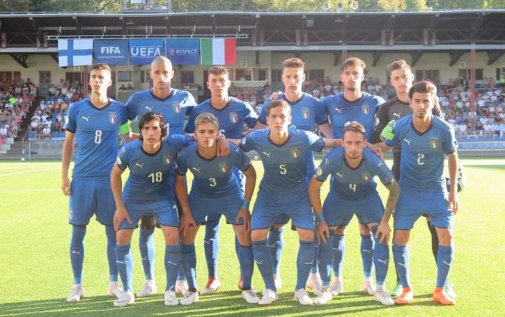 Esordio con vittoria per l'Under 19 Cinque gli atalantini agli Europei
