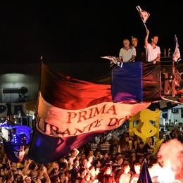 Gran finale alla Festa della Dea Percassi saluta la folla nerazzurra