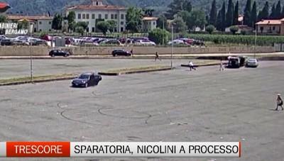 Sparatoria Trescore: i Nicolini a processo