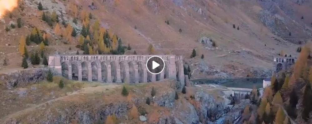 Un video da urlo della diga del Gleno Panorama mozzafiato ripreso dal drone