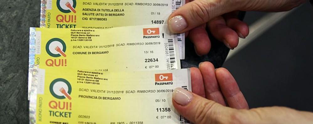 A Bergamo conto da 3 milioni di euro per il caso dei buoni pasto