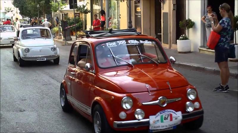 FIAT 500 CLUB ITALIA - RADUNO FIAT 500