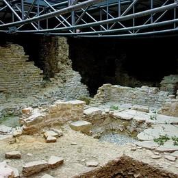 Riapre l'area archeologica in Città Alta Domenica prima visita alla domus
