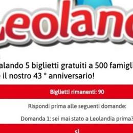«Cinque biglietti gratis per Leolandia» Attenzione: la truffa corre su WhatsApp