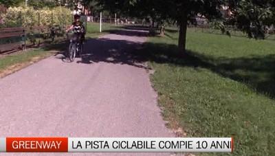 Greenway - La ciclabile compie dieci anni