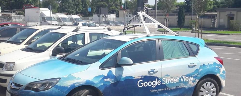 Torna in Bergamasca l'occhio di Google A Stezzano intercettata l'auto di Maps