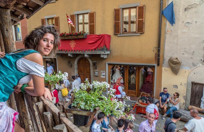 Festa medievale a Vall'Alta di Albino