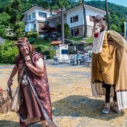 Figuranti a Vall'Alta di Albino vallalta medievale
