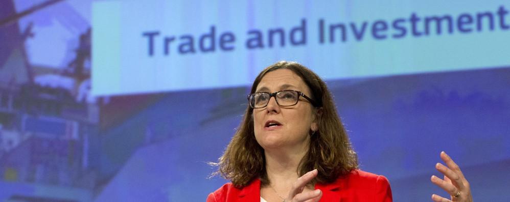 Dazi: Malmstroem, in Usa con Juncker con spirito amicizia
