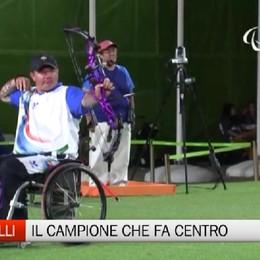 Lo sport più forte della disabilità La storia di Rolly Simonelli