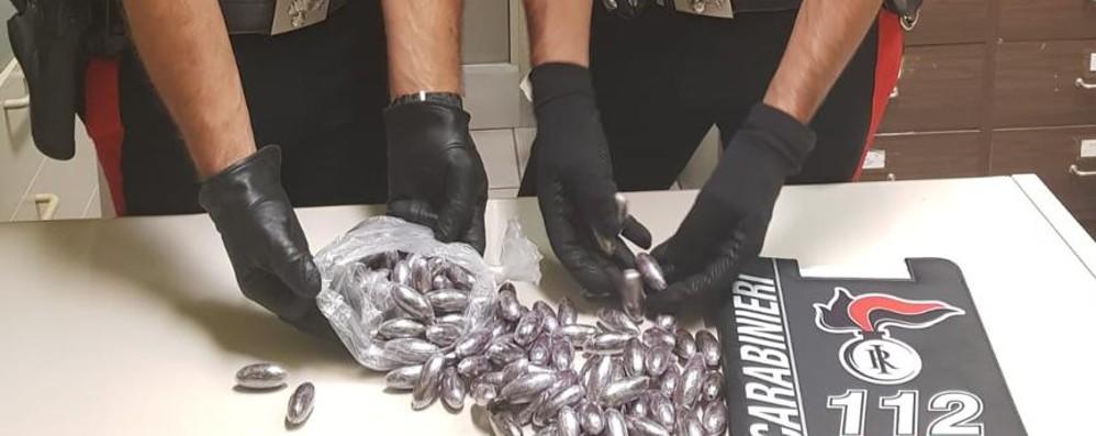 Nuovo blitz antidroga a Zingonia Sequestrato un chilo di hashish