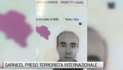 Sarnico: arrestato terrorista internazionale latitante