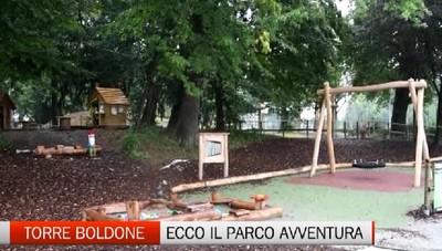 Torre Boldone: inaugurato il Parco Avventura