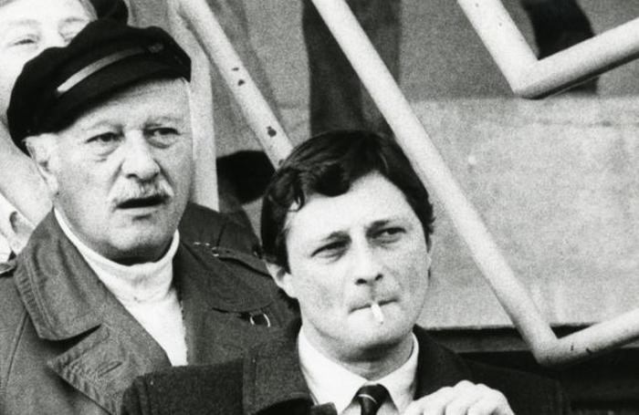 Cesare Bortolotti con il padre Achille