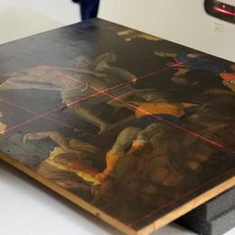 Mantegna, Tac e raggi X svelano i segreti del dipinto ritrovato