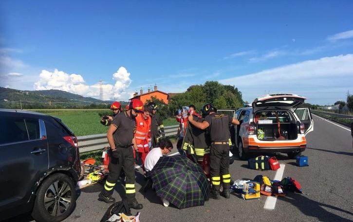 Schianto fatale in moto a Gorlago Muore un ragazzo di 19 anni